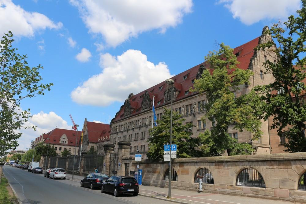 Paleis van Justitie Nuremberg & Zellengefaengnis Nuremberg