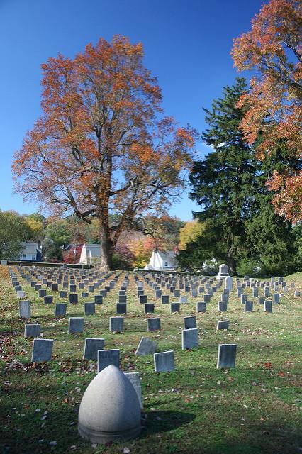 Begraafplaats Geconfedereerden Fredericksburg
