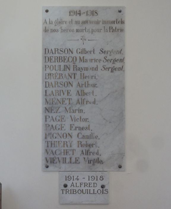 War Memorial Dorengt