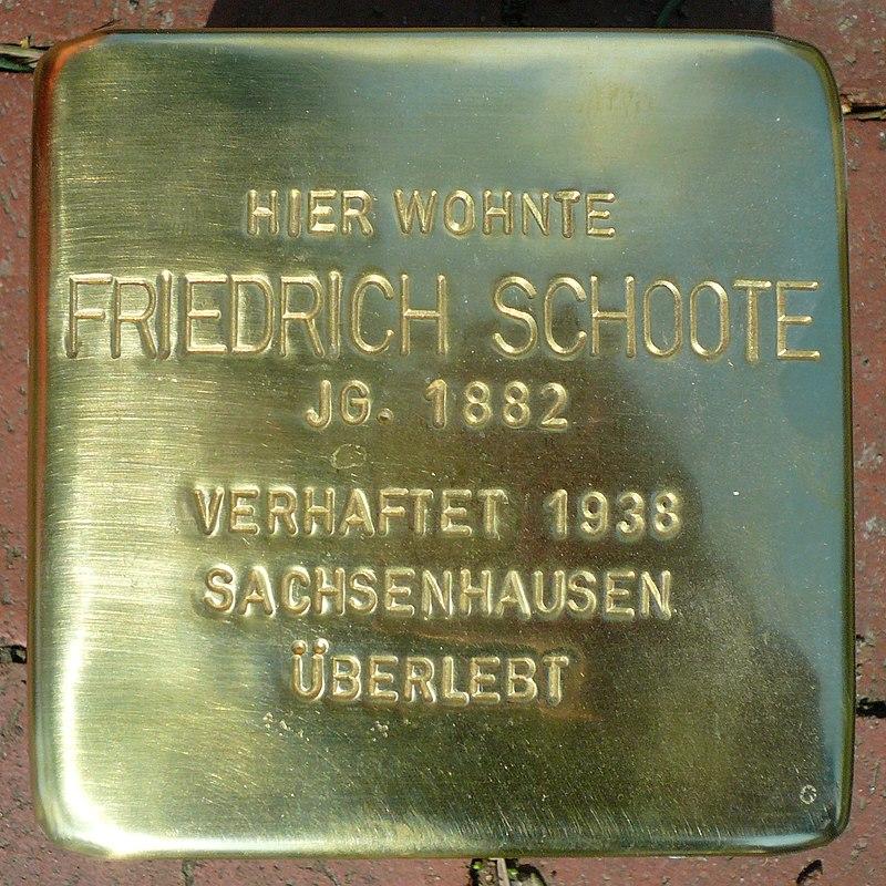 Stolperstein Brunnenweg 117