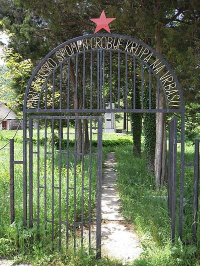 Partizanen Oorlogsbegraafplaats Krupa na Vrbasu