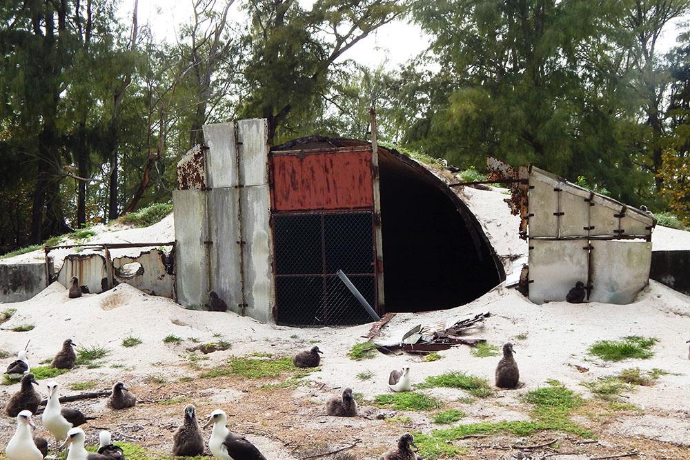 Underground Ammunition Bunker