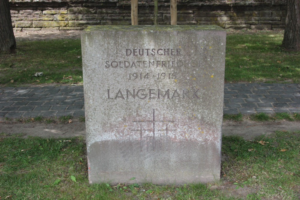 German War Cemetery Langemark