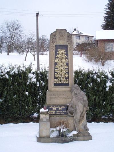 War Memorial Slatina nad Úpou