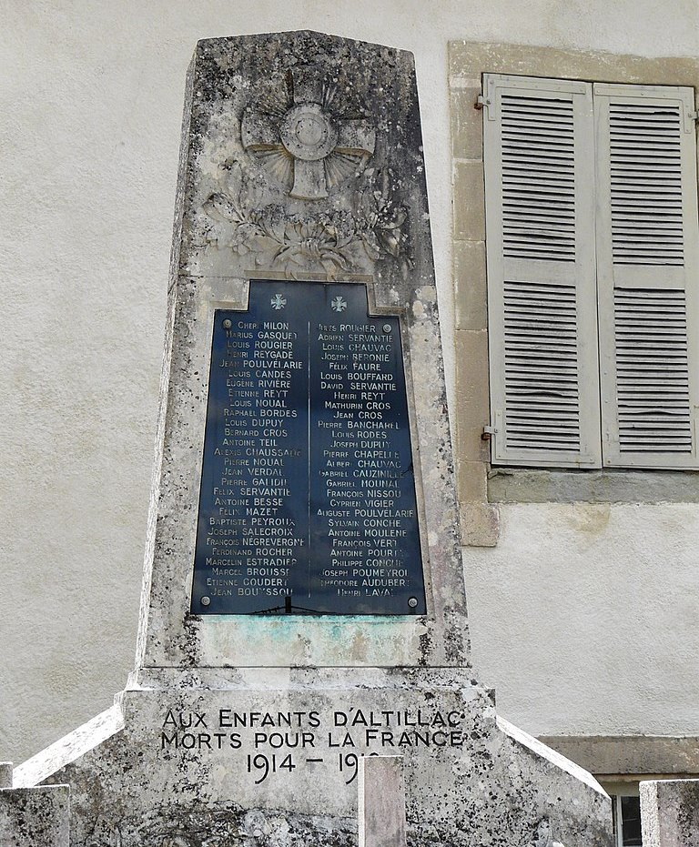 War Memorial Altillac