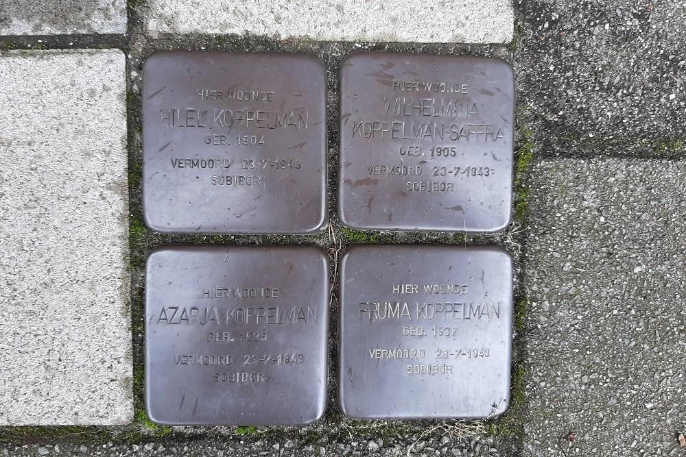 Stumbling Stones Johann Keplerstraat 17