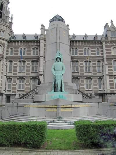 Monument voor Omgekomen Belgische zeelieden