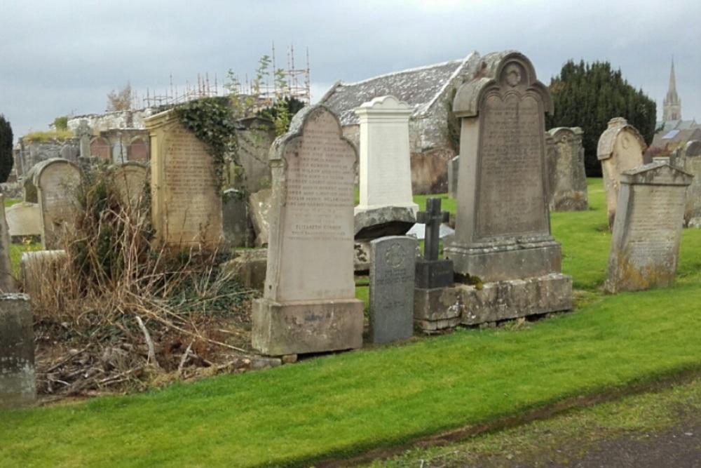 Commonwealth War Graves Lanark Cemetery