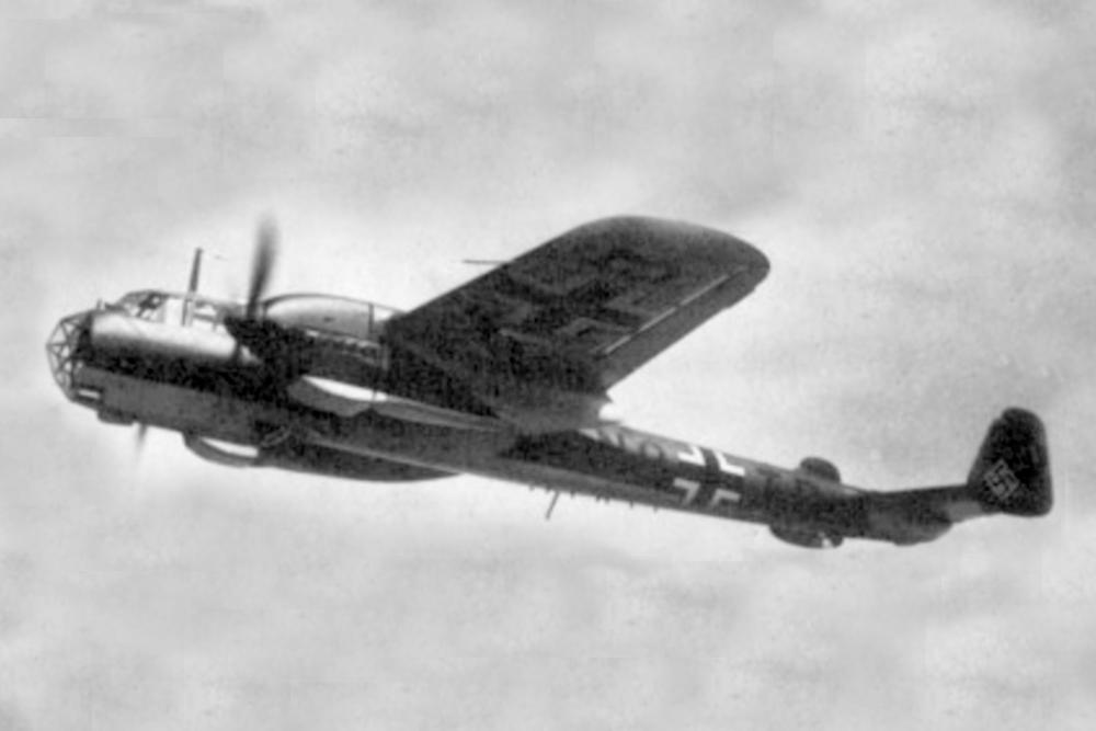 Crashlocatie Dornier Do 215