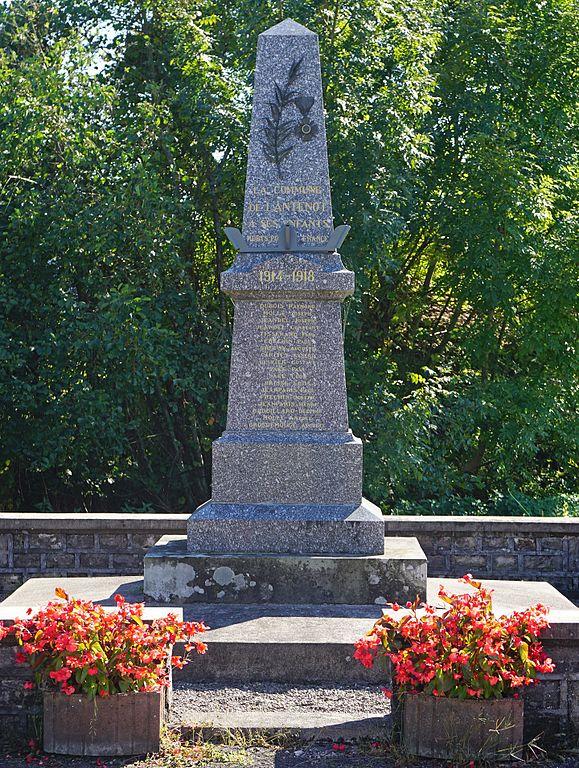 World War I Memorial Lantenot