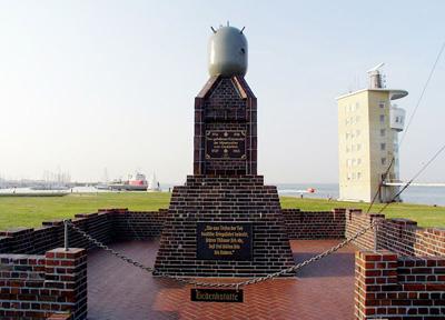 Monument Mijnenruimers Cuxhaven
