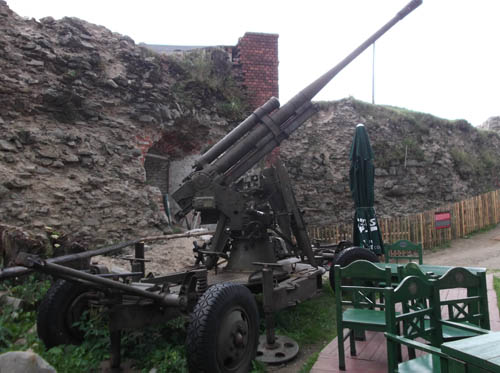 85mm M1939 (52-K) AA Gun Srebrnogórska