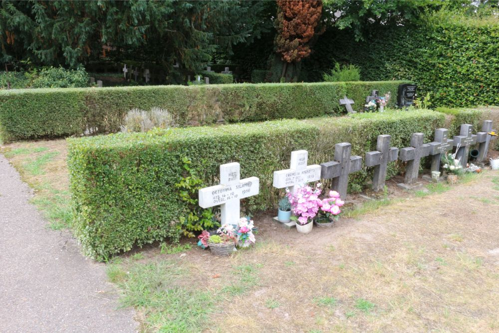 Graves Veterans KNIL Municipal Cemetery Vught