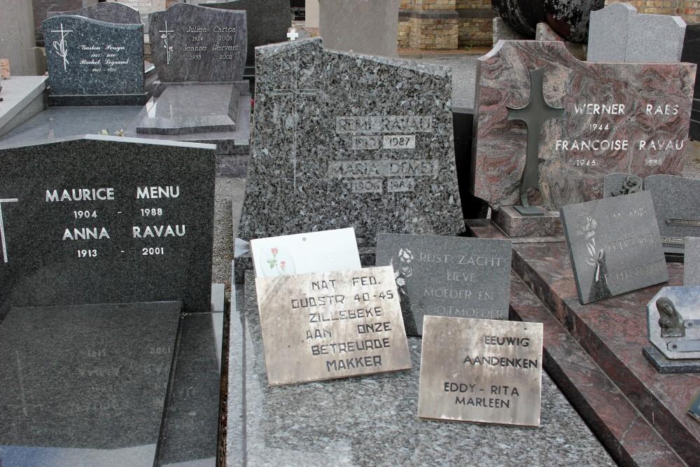 Veteran War Graves Zandvoorde