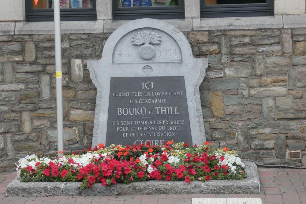 Monument Omgekomen Rijkswachters