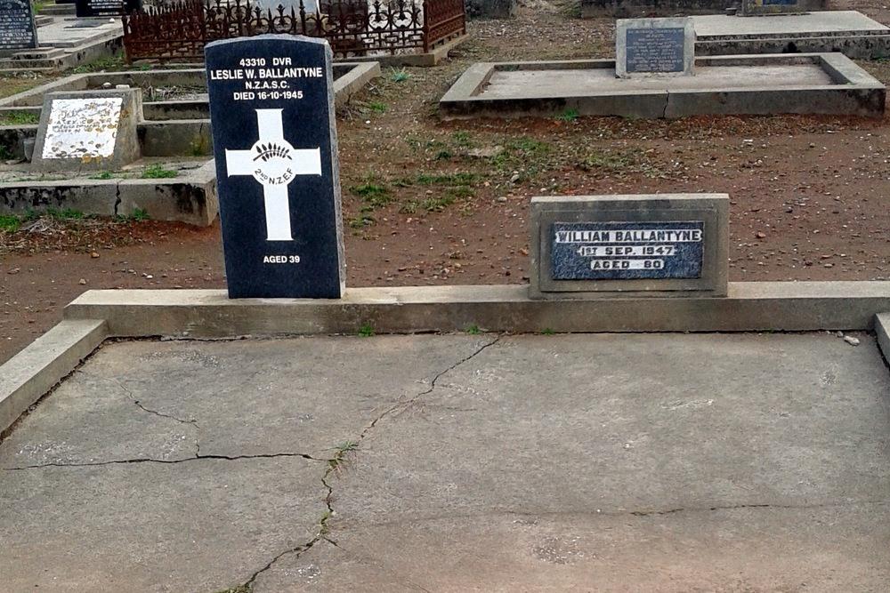 Oorlogsgraf van het Gemenebest Orepuki Cemetery