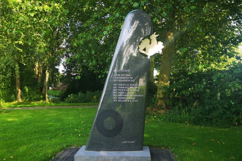 Memorial Lancaster ED 569