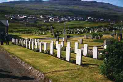 Commonwealth War Graves Torshavn