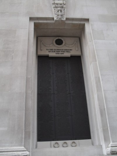 Lloyd's of London WW1 and WW2 memorial