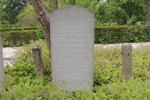 Dutch War Grave Corniles Anthonie Clement