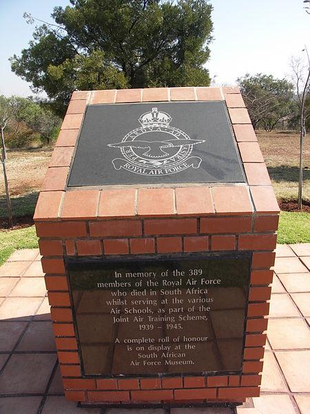 Monument Joint Air Training Scheme