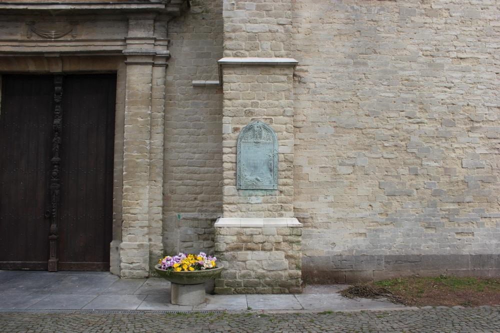Commemorative Plate First World War Sint-Pieters-Leeuw