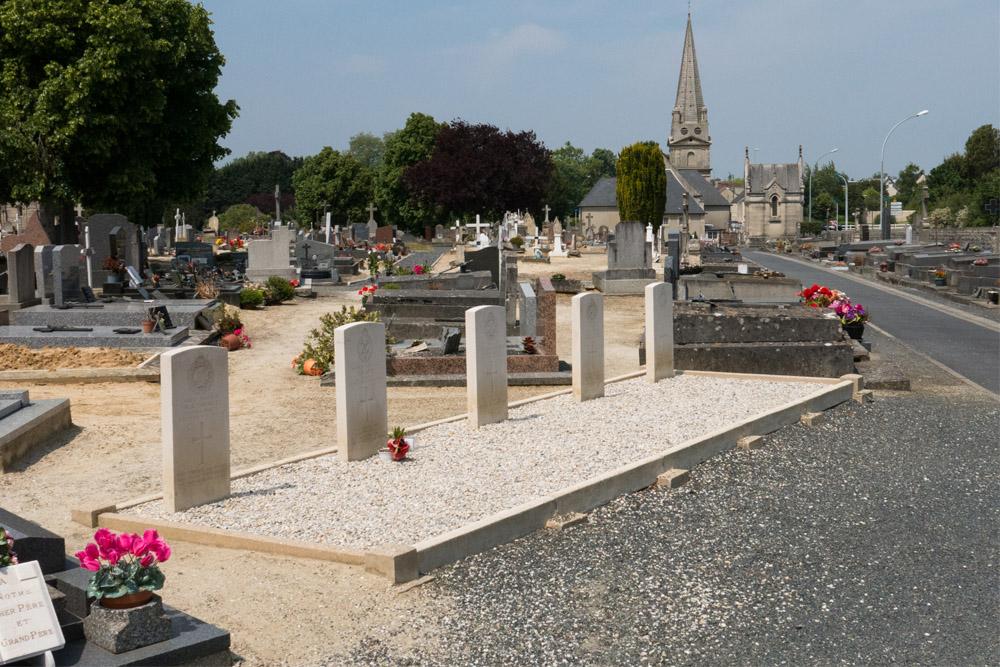 Oorlogsgraven van het Gemenebest Bayeux
