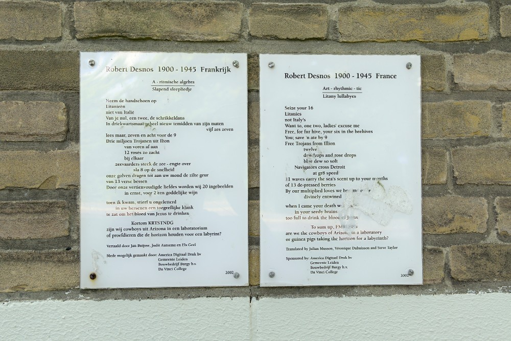 Wall Text Robert Desnos Leiden