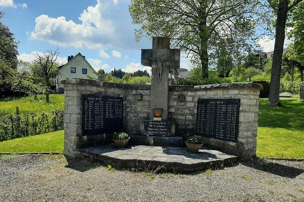 War Memorial Rinnen