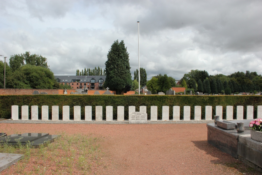 Commonwealth War Graves Nivelles