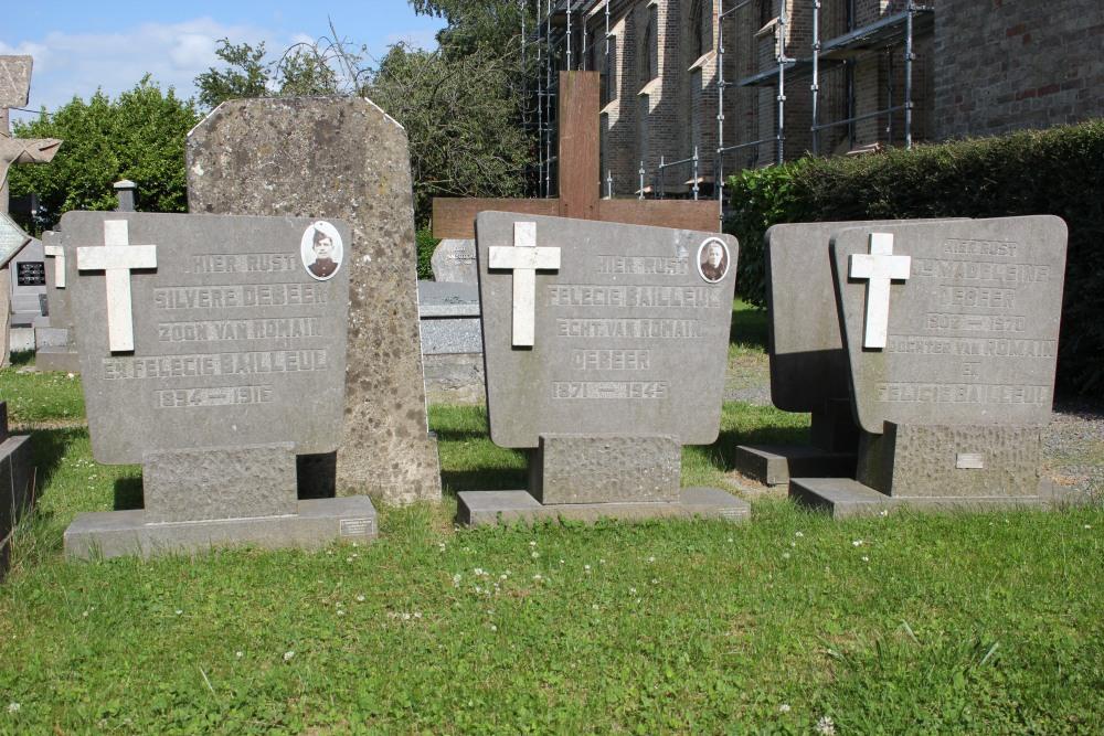 Belgian War Graves Woesten