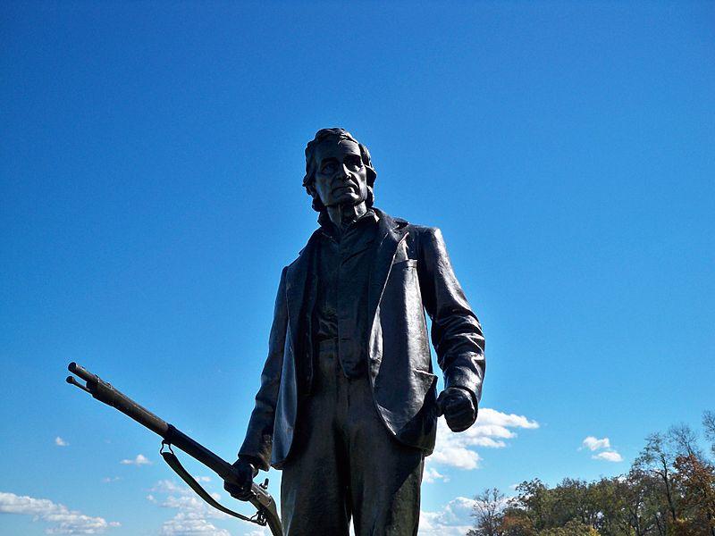 Standbeeld John L. Burns