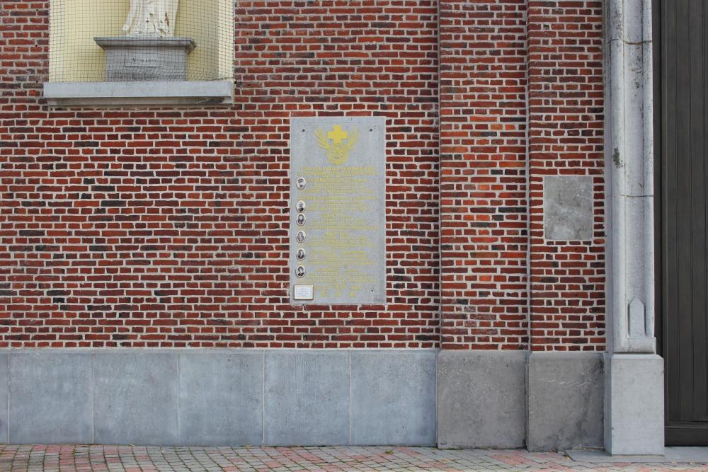 Gedenkplaat Slachtoffers Concentratiekampen Orroir