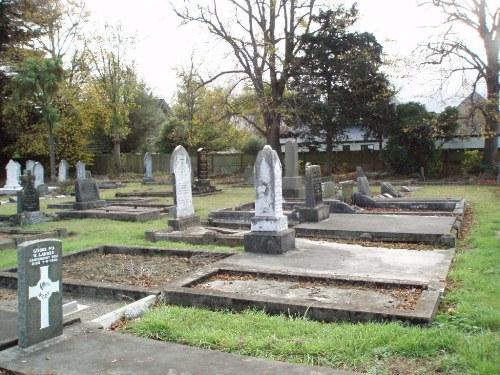 Oorlogsgraven van het Gemenebest St. John's Anglican Cemetery