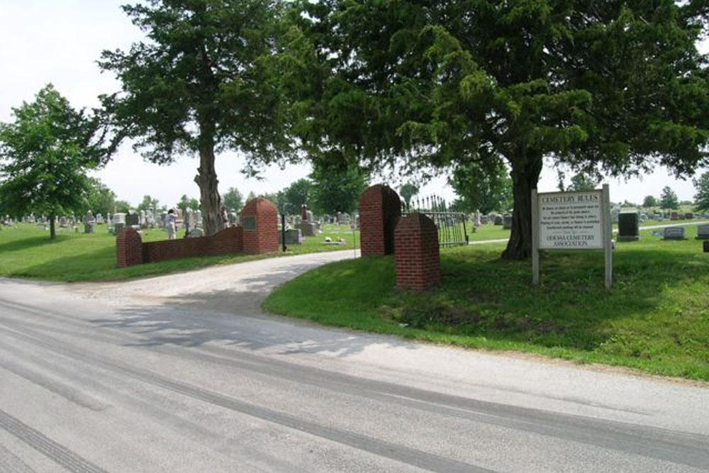 American War Grave Odessa Cemetery
