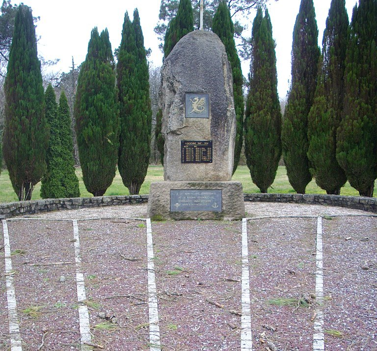 Monument Para-eenheden Indochina
