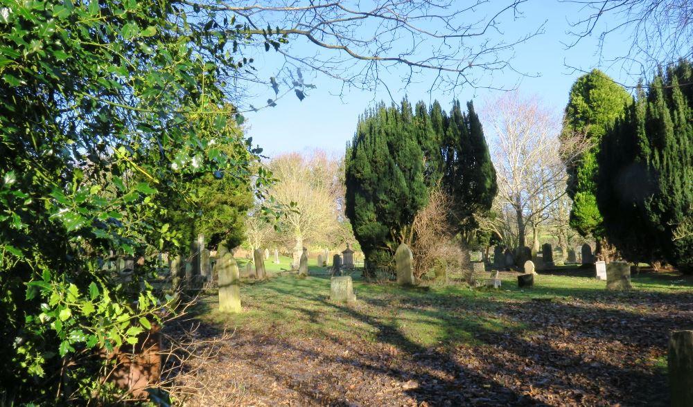 Commonwealth War Graves St. Cuthbert Churchyard Extension
