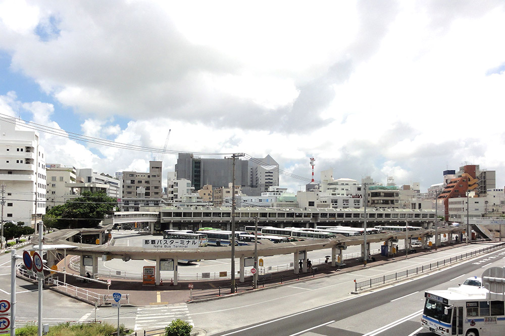 Location Naha Train Station