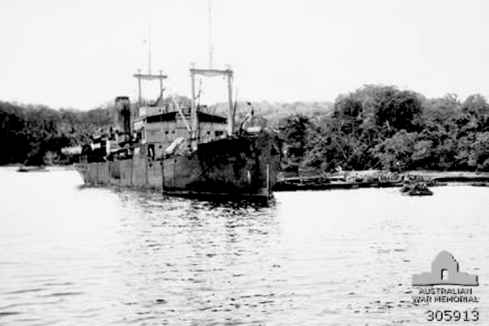 Shipwreck SS Bantam
