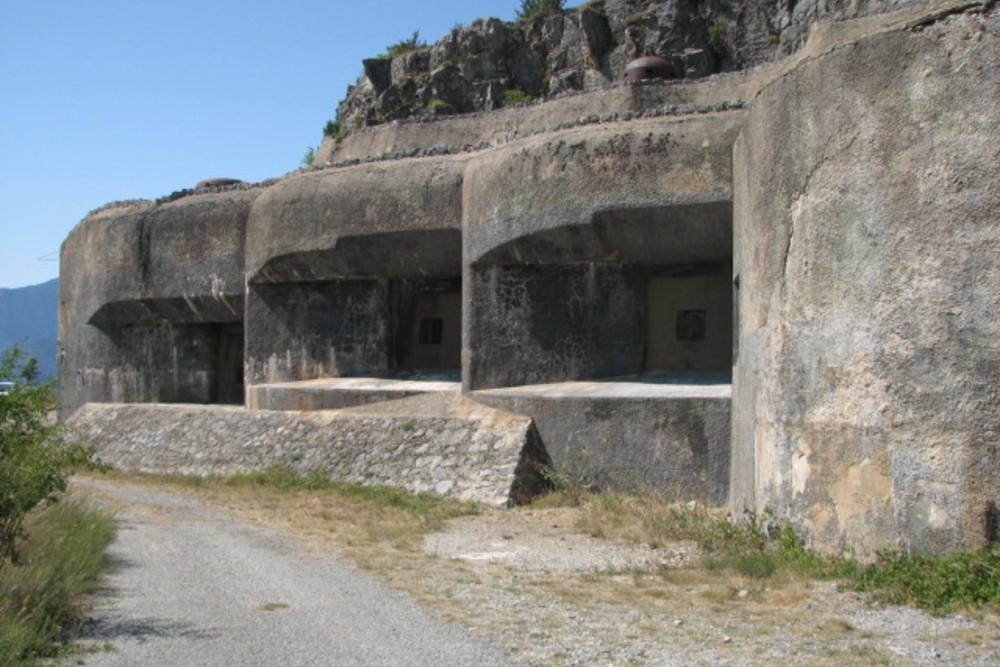 Maginotlinie - Fort Rimplas