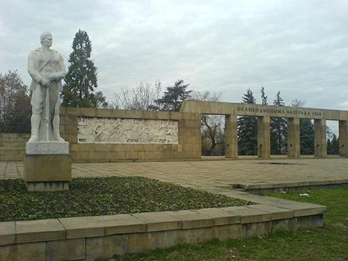 Liberators Cemetery Belgrade