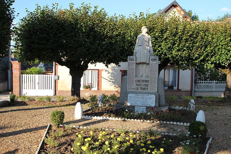 Oorlogsmonument Villemeux-sur-Eure