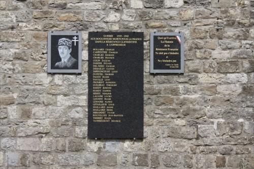 Memorial Killed Resistance Fighters Boulogne-sur-Mer