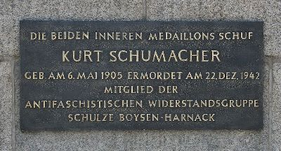 Plaque Kurt Schumacher