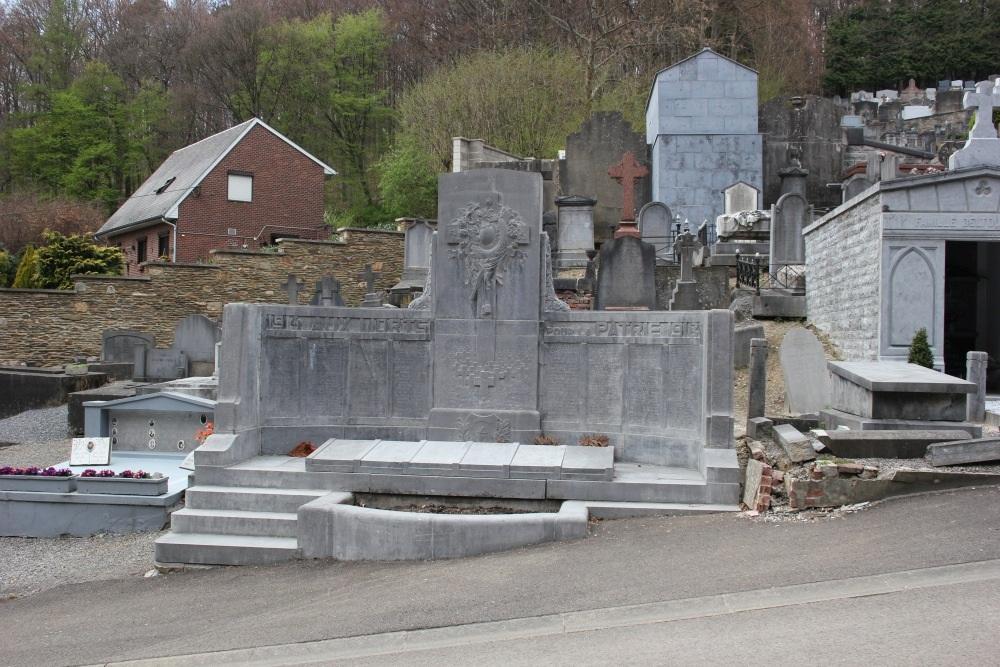 Oorlogsmonument Begraafplaats Spa