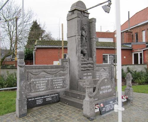 Oorlogsmonument Boekhoute
