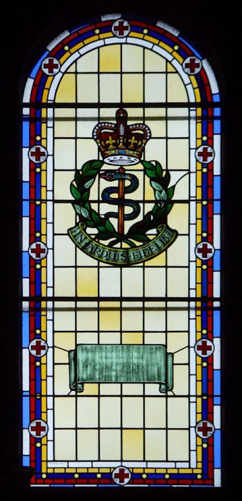 Herdenkingsraam Royal Army Medical Corps