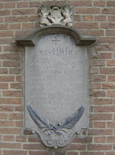 Monument voor Louis Ficq