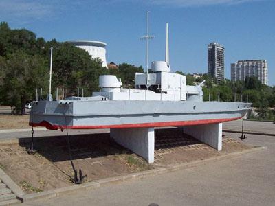 Memorial to the Heroes of the Volga Flotilla