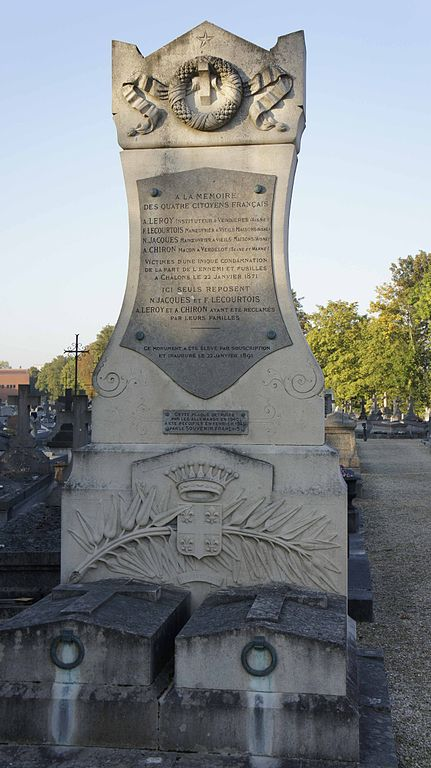 Monument Executie 22 Januari 1871